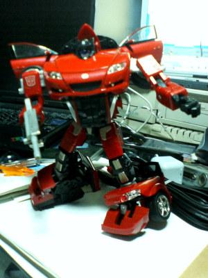 RX-8ロボットモード